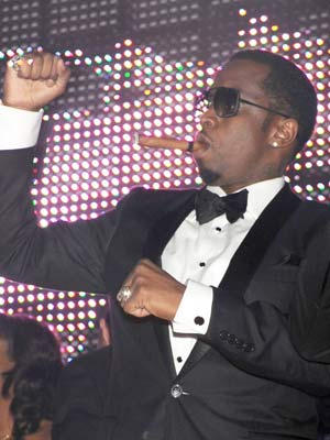 Celebrity smoker: Sean 'Diddy' Combs