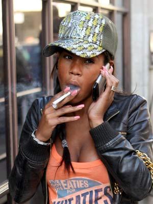 Celebrity smoker: Charley Uchea