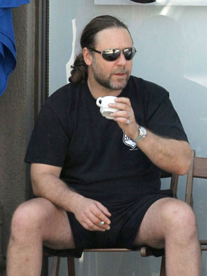 Celebrity smoker: Russell Crowe
