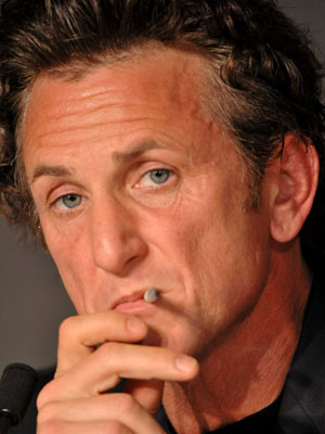 Celebrity smoker: Sean Penn