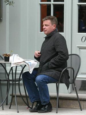 Celebrity smoker: Suggs