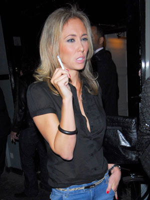 Celebrity Smokers: Jenny Frost