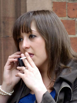 Celebrity Smokers: Natalie Cassidy