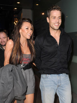 Michelle Heaton and Hugh Hanley | Michelle Heaton and Hugh Hanley at London's Crystal nightclub | Now Magazine