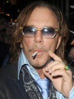 Mickey Rourke | Celebrity smoker Mickey Rourke | Now magazine | Celebrity gossip
