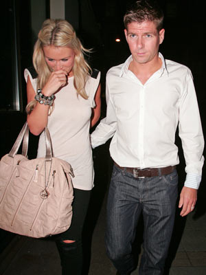 Alex Gerrard I Wouldnt Let Steven Name Our Child Eight After His Shirt Number