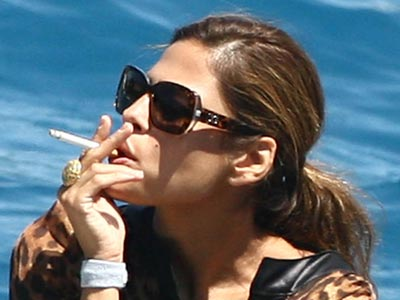 Eva Mendes | Celebrity Smokers | Pictures | Now Magazine | Celebrity Gossip
