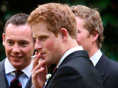 Prince Harry | Celebrity Smoker | Pictures  | Now | Photos | Celebrity gossip