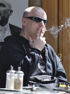 Celebrity Smokers | Boy George | Pictures | Now Magazine | Celebrity Gossip