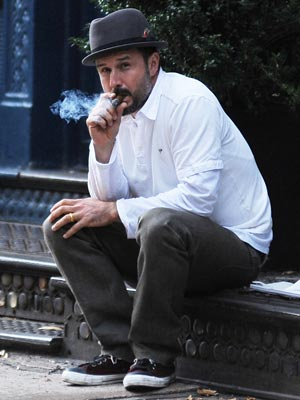 Celebrity Smokers | David Arquette | Pictures | Now Magazine | Celebrity Gossip