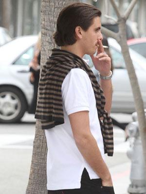 Scott Disick | Celebrity Smoker | Pictures | Now | Photos | Celebrity gossip