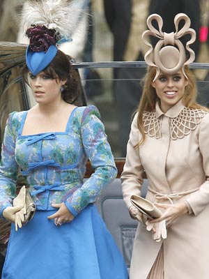 Princess Eugene and Beatrice | Royal Wedding | Pictures | Photos | New