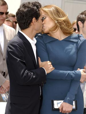 Marc Anthony and Jennifer Lopez | Hollywood Walk Of Fame | Pictures | Photos | New