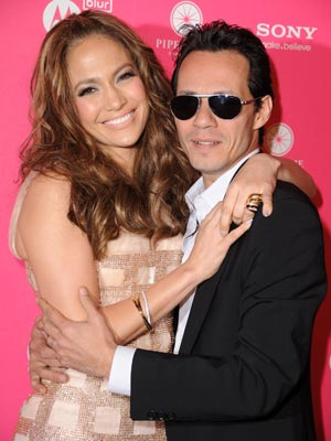 | US Weekly Hot Hollywood party: Jennifer Lopez and Marc Antony | Pictures | Now Magazine