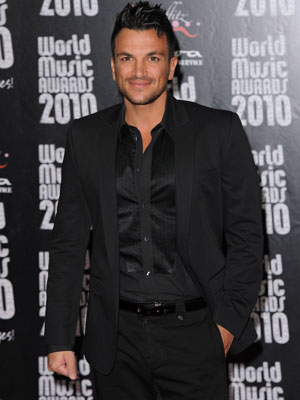 Peter Andre | World Music Awards | celebrity | red carpet | latest | photos | pictures | gossip