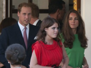 Prince William, Princess Eugenie and Kate Middleton | Zara Phliips and Mike Tindall's pre-wedding party | Pictures | Photos | New