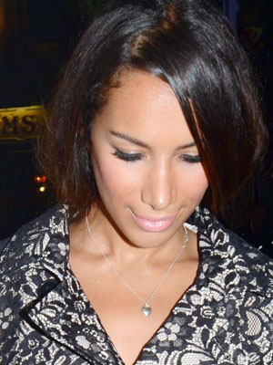 Leona Lewis and her 'Fob'