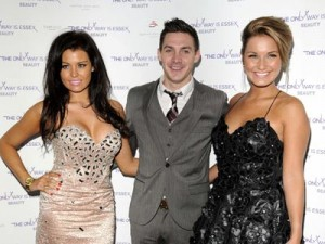 Jess Wright, Kirk Norcross and Sam Faiers | The Only Way Is Essex Perfume Launch | Pictures | Photos | New