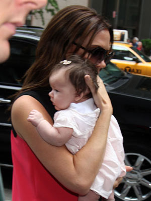 Victoria Beckham and Harper Seven  | New York | Pictures | Photos | New