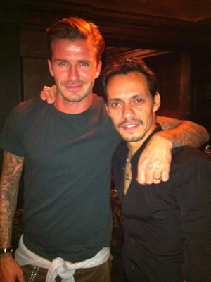 David Beckham and Marc Anthony | New | Pictures | Photos | Celebrity News