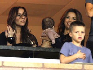 Eva Longoria, Victoria Beckham and Harper Seven Beckham | Pictures | Photos | News | Celebrity News
