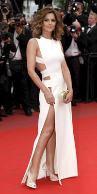 Look Lauren Pope Copies Cheryl Cole S No Knickers Dress