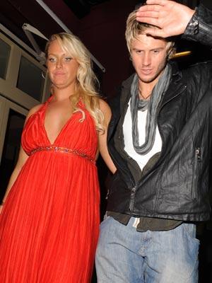 John James Parton and Josie Gibson'  John James Parton and Josie Gibson's romantic night out   pictures   now magazine   celebrity gossip