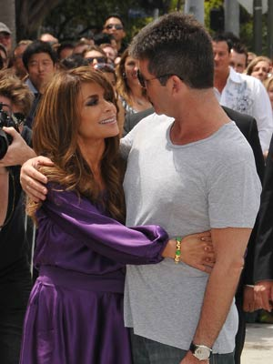 simon cowell and paula abdul dating 2011