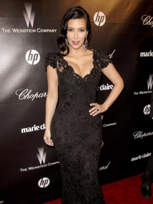 Kim Kardashian | The Weinstein Company 2012 Golden Globe After Party| Pictures | Photos | New | Celebrity News