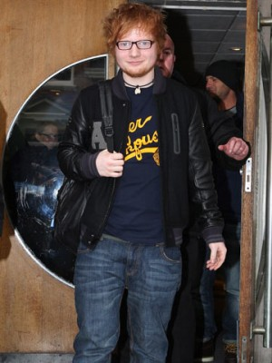Ed Sheeran | Radio 1 February 2012 | Pictures | Photos | New | Celebrity News