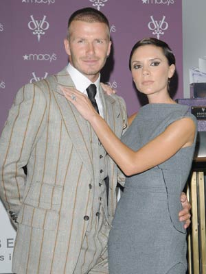 Victoria and David Beckham launch new fragrance Signature