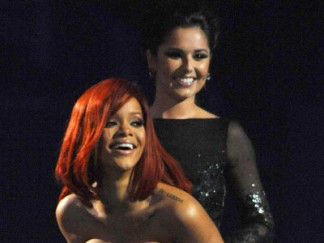 Rihanna and Cheryl Cole | Brits 2011 | Pictures | Photos