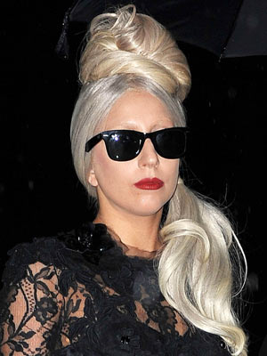 Lady Gaga | Celebrity hair | Pictures | New styles | Latest | Hair | Now | Photos | Hairstyles