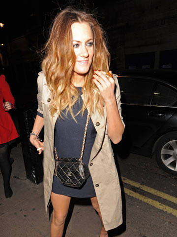 how to style dip dyed hair reckon harry styles will it caroline flack goes from 4976