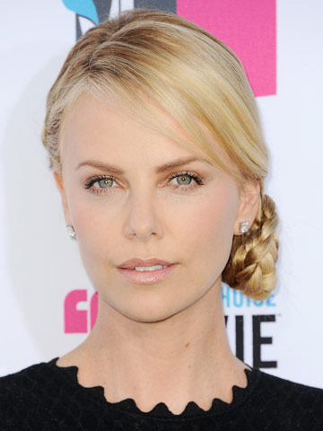 Charlize Theron   Celebrity hair   Pictures   New styles   Latest   Hair   Now   Photos   Hairstyles