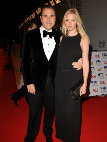 David Walliams and Lara Stone | National Television Awards 2012 | Pictures | Photos | New | Celebrity News