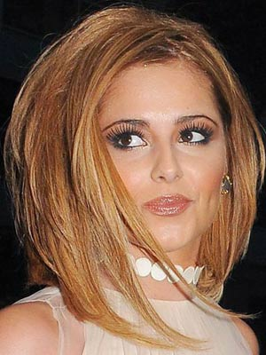 Cheryl Cole new hair blonde bob at 28th birthday party | New | Picture