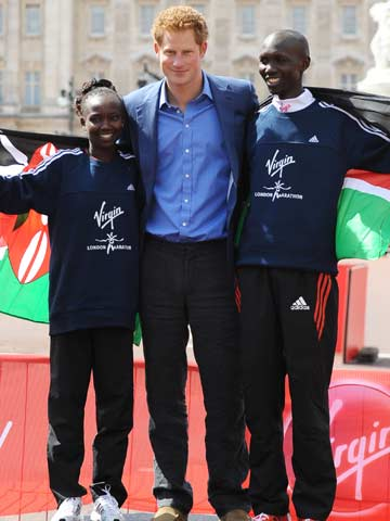 Prince Harry | London Marathon 2012 | Pictures | Photos | New | Celebrity News