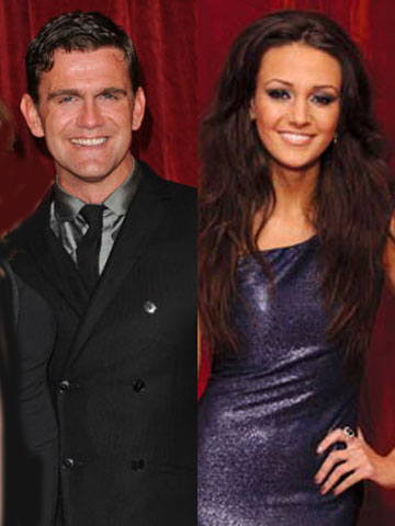 Scott Maslen and Michelle Keegan | British Soap Awards 2012 | New pictures