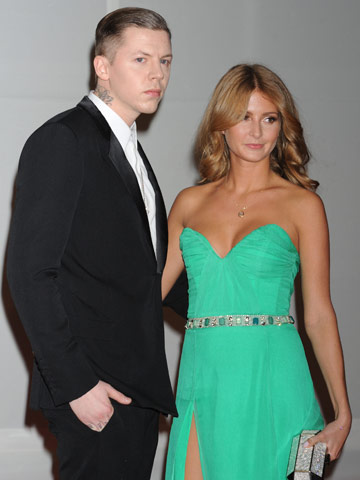 Professor Green and Millie Mackintosh | The Brit Awards 2012 | Pictures | Photos | New | Celebrity News
