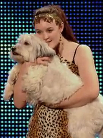 Ashleigh and Pudsey - Britain's Got Talent | Now magazine | New pictures