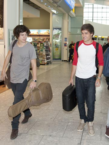Harry Styles and Liam Payne | One Direction | Heathrow London | Pictures | Photos | New |