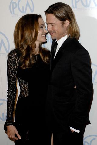 Angelina Jolie and Brad Pitt | Celebrity Spy 21 - 23 January | Pictures | Photos | New | Celebrity News