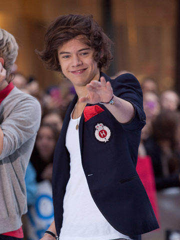 Harry Styles | One Direction | Today Show New York | One Direction | Pictures | Photos | New | Celebrity News