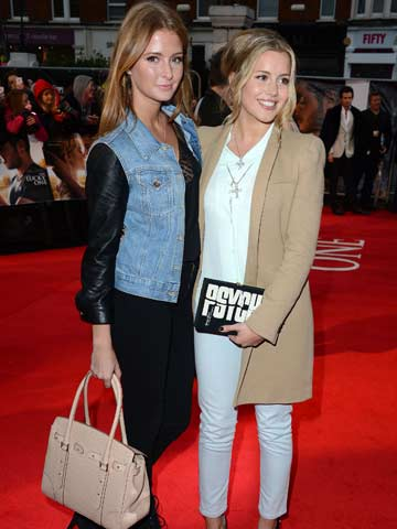 Millie Mackintosh and Caggie Dunlop | The Lucky One London Premiere | Pictures | Photos | New | Celebrity News