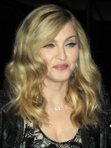 Madonna | Celebrity hair | Pictures | New styles | Latest | Hair | Now | Photos | Hairstyles