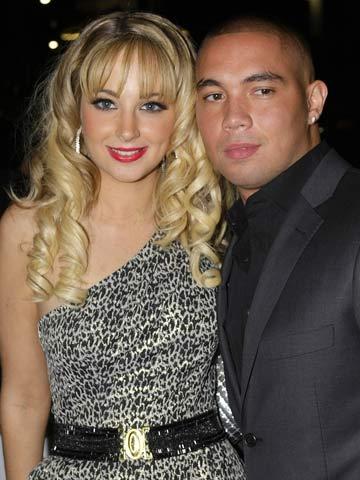 Tulisa Contostavlos and MC Ultra   New   Pictures   Photos   Celebrity News   Now Magazine