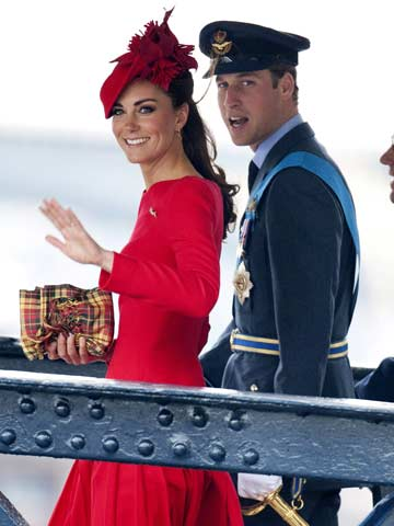 Kate Middleton and Prince William | Queen's Diamond Jubilee 2012 | Celebrity News | New | Pictures | Photos | Now Magazine