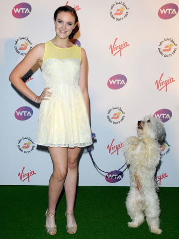 Ashleigh Butler and Pudsey | Pre-Wimbledon Party | Pictures | Photos | New | Celebrity News