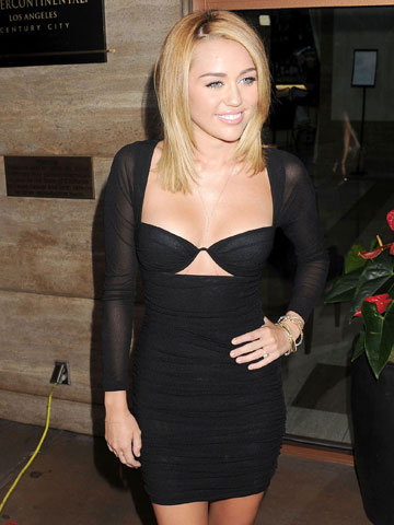 miley-cyrus-sexy-black-dress-dads-stripper-furniture